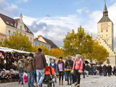 Shopping Hotspot - Oberer Stadtplatz Deggendorf
