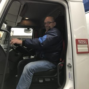 LKW Fahrer Anton Süß