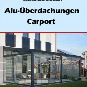 Titelbild Magazin Überdachungen 2018 - Terrassenüberdachungen in Alu