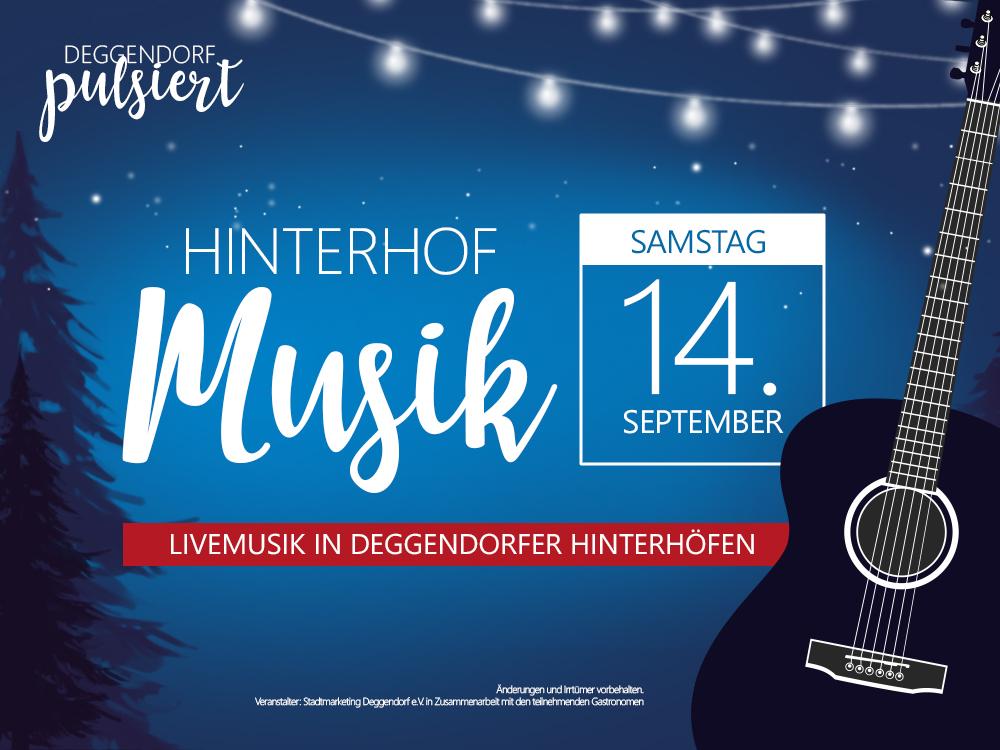 Hinterhofmusik Deggendorf Pulsiert