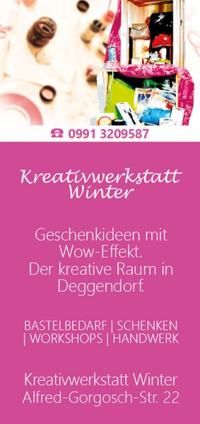 Kreativwerkstatt Winter